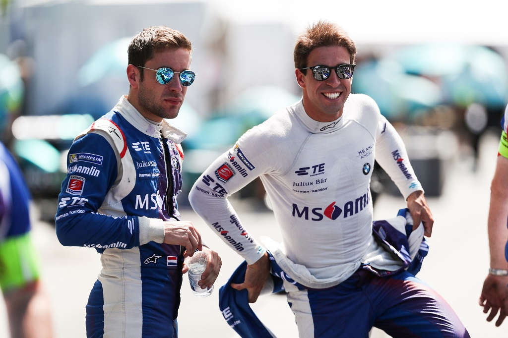 drivers at 2017 Montreal ePrix