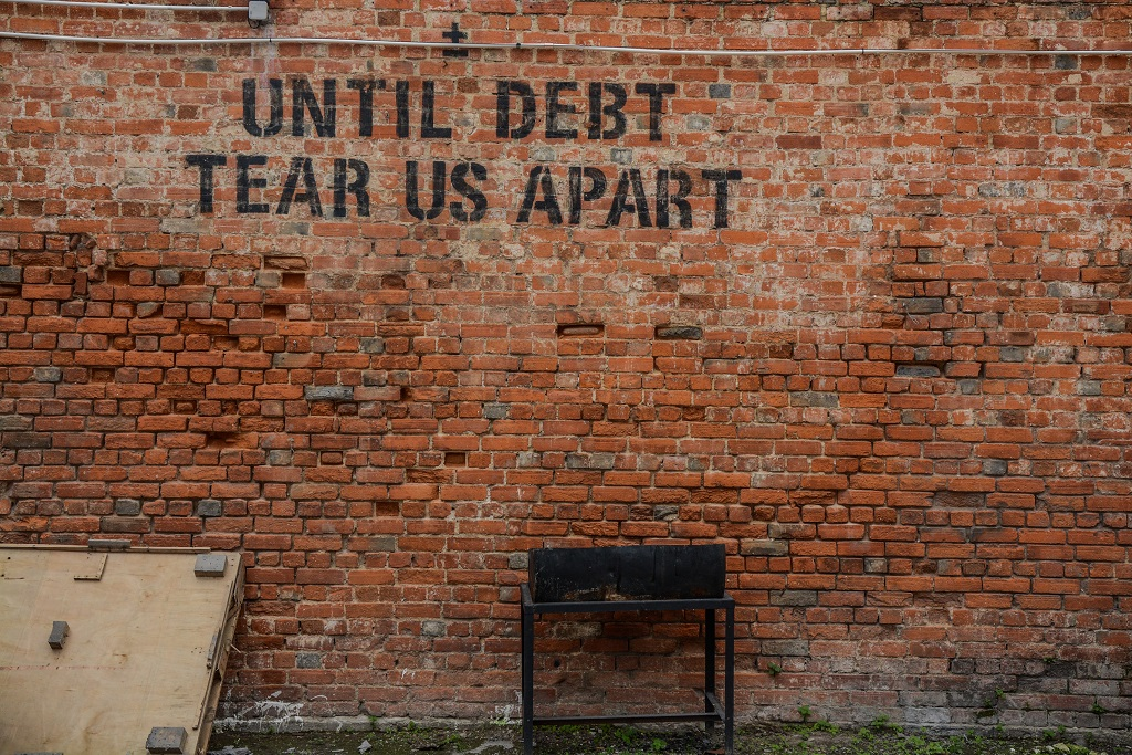 credit control ensures that debt will not tear us apart
