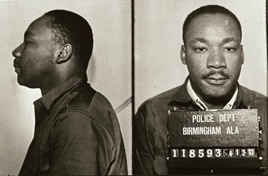 King Arrested in Birmingham