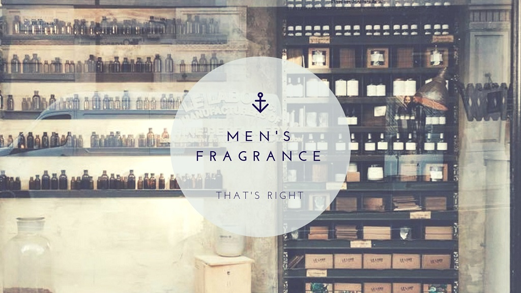 poster of buy men's fragrance